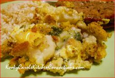 Broccoli Cauliflower Casserole is a great side dish.  People who don't even like broccoli and/or cauliflower love this casserole.