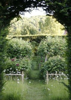 The Dower House - The English Garden