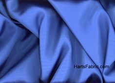 Blue Costume Satin