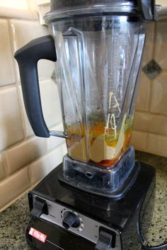 PEANUT SATAY SAUCE in the Vitamix: 1 cup Peanut Butter (1/2 salted & 1/2 unsalted), 1/2 cup Apple Cider Vinegar, 1/4 of a medium Onion, 5 Dates, 1 clove Garlic, up to 1 Tbsp No-Salt Seasoning, 1 tsp Tumeric, 1/8 tsp Cayenne Pepper. Process until smooth. Add more Vinegar or Water if necessary to blend.