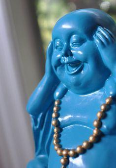 Blauwe aap - blue monkey - #tzolkin - Laughing Buddha