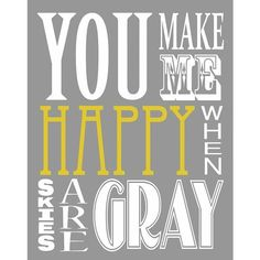 Color Grey Yellow ❤ liked on Polyvore