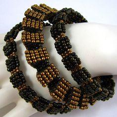 Resultado de imagen para peyote bangle bracelet