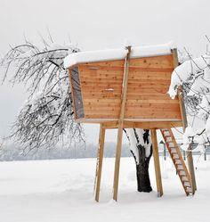 Free Standing Tree House | Ravnikar Potokar