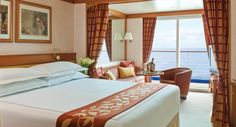Learn more about the staterooms on Seven Seas Navigator cruises.