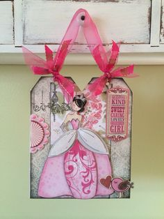 Julie Nutting - Prima Doll Stamp (Made by Me for my Granddaughter Mayah Grace)