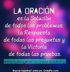 la oración ♥