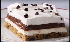 Un gâteau sans cuisson sur une pâte à biscuit? Mmm, on en veut tout de suite