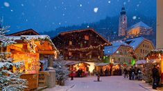 Advent in the Alps is a magical time of year. Here are the dates Austria's best Christmas markets. Ski property for sale. Salzburg Christmas, Best Christmas Markets, Christmas Time, Advent, New Year Holidays, Great Hotel, Local Events, Beautiful Buildings, Luxury Travel