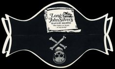 Long John Silver's pirate hat