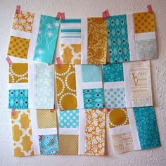 Rectangle Squared Quilt Block (links to tutorial)