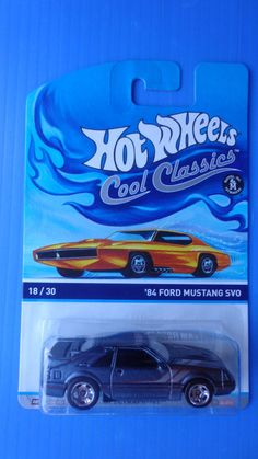 2014 Hot Wheels New Cool Classics  '84 Ford Mustang SVO  #18/30 #HotWheels