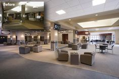 pictures of church lobbies | Moraine Valley Church sanctuary Before & After