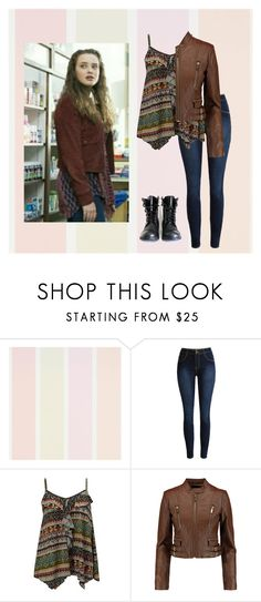 """""""hannah baker - outfit inspired ☕"""" by louistwenty ❤ liked on Polyvore featuring Daytrip, MICHAEL Michael Kors, hannahbaker and 13reasonswhy"""