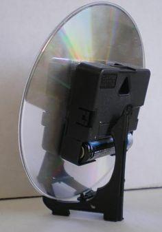 back of pug CD clock