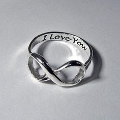 Honestly I've always wanted a promise ring :x but something on the cheaper side aha. I love the inscription and infinity c: