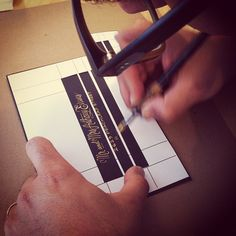 Envelope template for addressing....perfect genius! #wedding #southernblush