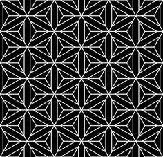 Stock-Vektor ✓ 17 Mio. Bilder ✓ Hohe Qualität fürs Web und Print | Nahtlose geometrische Textur. Diamanten, Dreiecke, Sechsecke und Sternen-Muster.