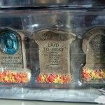 Haunted Mansion Tombstone decorations & more - Disney Parks Halloween Merchandise!