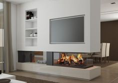 Contemporary Fireplace- Real Masterpiece To Adorn Your Living Space - suzannefuller. - - Contemporary Fireplace- Real Masterpiece To Adorn Your Living Space – suzannefuller. Contemporary Fireplace Designs, Contemporary Apartment, Contemporary Bedroom, Contemporary Architecture, Contemporary Building, Contemporary Cottage, Kitchen Contemporary, Contemporary Wallpaper, Contemporary Chandelier