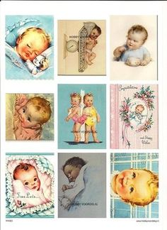 vintage knipvel 3 baby