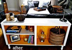 Re-purposing unused cabinets