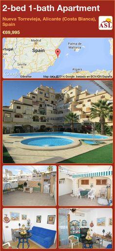 2-bed 1-bath Apartment in Nueva Torrevieja, Alicante (Costa Blanca), Spain ►€69,995 #PropertyForSaleInSpain