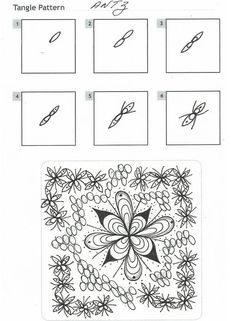 How to draw ANTZ « TanglePatterns.com