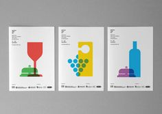 weandthecolor:    Graphic Brand Design  Identity design created by studio Atipus for Hotels amb DO, aCatalan wines week.  More of the identity design on WE AND THE COLORWATC//Facebook//Twitter//Google+//Pinterest