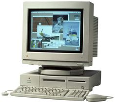 Macintosh Quadra 610 • My first Mac desktop...