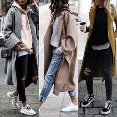 New Fashion High Street Style Chic Ideas Fashion Mode, Look Fashion, New Fashion, Korean Fashion, Fashion Outfits, Fashion Trends, Womens Fashion, Ladies Fashion, Fasion