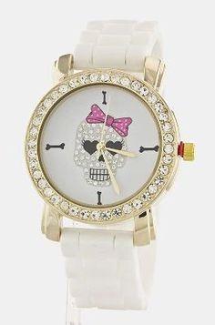 Crystal Skull Fashion Watch , $29.5