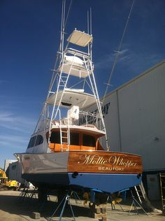 46′ sportfish built in 1982 by the legendary Merritt Boat and Engine Works