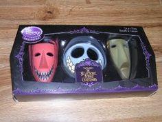 Amazon.com - Nightmare Before Christmas Set of 3 Masks Lock Shock ...