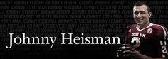 Johnny Manziel has won the Heisman Trophy, becoming the first freshman to win college football's most prized individual award.   #aggies  #tamu