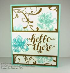 Everything Eleanor, Hello, Hello There, Stampin' Up