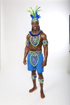 Our Sunset Male costume for Notting Hill Carnival 2016