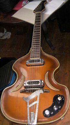 Halbakustische Violin Jazz Gitarre vintage guitar W Herold DDR überholt Top 60er   eBay