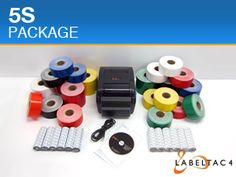 LabelTac 4 5S Label Maker and Thermal Sign Printer : Makes professional quality labels and signs