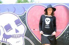Keep Happy - Mi Vestido Azul  Fashion and Lifestyle Blog   By Lourdes BuesoMi Vestido Azul  Fashion and Lifestyle Blog   By Lourdes Bueso