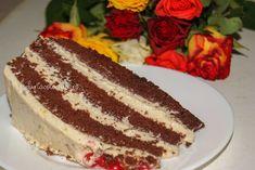 Tort cu cremă de vanilie și ciocolată - Farfuria Colorată Tiramisu, Deserts, Ethnic Recipes, Rome, Postres, Tiramisu Cake, Dessert, Plated Desserts, Desserts