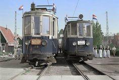 Noordhollands Dagblad - Waterlandse trams staan er gekleurd op in Volendam