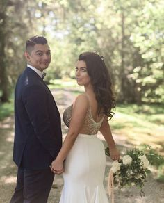 Contact Dina Alonzi Bridal at in Toronto, ON, for a high-end bridal shop. Brides, White Dress, Stuff To Buy, Dresses, Fashion, Vestidos, Moda, Fashion Styles, Wedding Bride