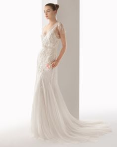 Ubeda vestido de novia soft Rosa Clara