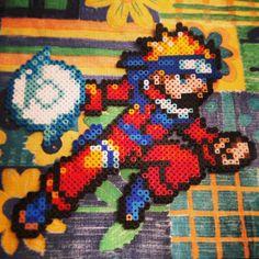 Naruto perler bead sprite by felicialaus