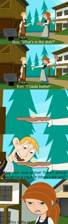 Kim Possible  I still remember this episode!!