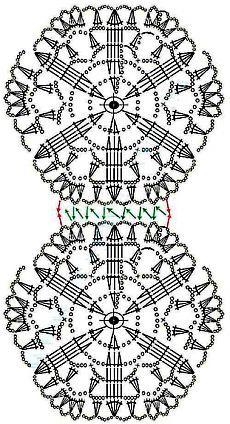 Best 11 Boże Narodzenie – Page 522558363010180738 – SkillOfKing.Com - Her Crochet Crochet Motifs, Crochet Diagram, Crochet Chart, Crochet Squares, Crochet Doilies, Crochet Stitches, Crochet Christmas Decorations, Crochet Ornaments, Christmas Crochet Patterns