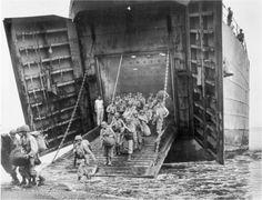 Coast Guard Heroes: Joseph Gerczak; LST-66 landing US Marines on Cape Gloucester, New Britain.