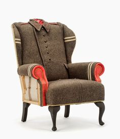 Image result for needlepoint patchwork chair