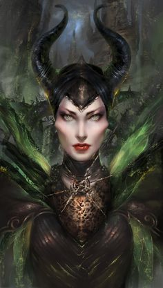 Disney Vilains fanart - Maleficent - The Sleeping Beauty Dark Disney, Evil Disney, Disney Fun, Disney Magic, Maleficent Art, Malificent, 3d Fantasy, Dark Fantasy, Disney Fan Art